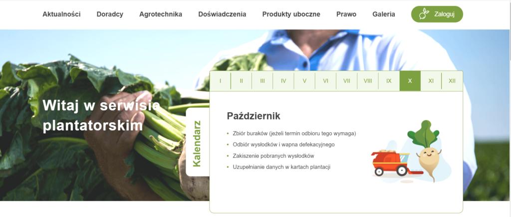 Odnowiona strona Serwisu Plantatorskiego